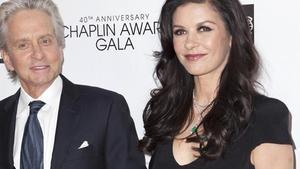 Michael Douglas y Catherine Zeta-Jones.