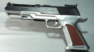 Un arma en una imagen de archivo.