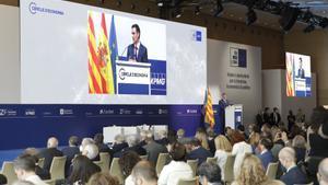Pedro Sanchez en el cercle d'economia