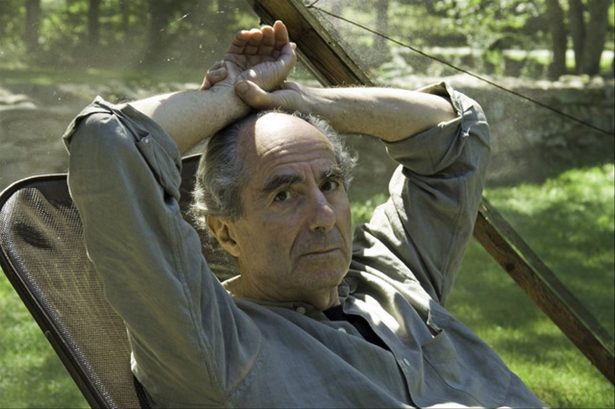 Philip Roth, en una foto del 2005, cuando tenía 72 años.