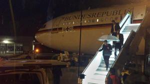 Alemanya investiga l'avaria de l'avió que portava Merkel al G-20