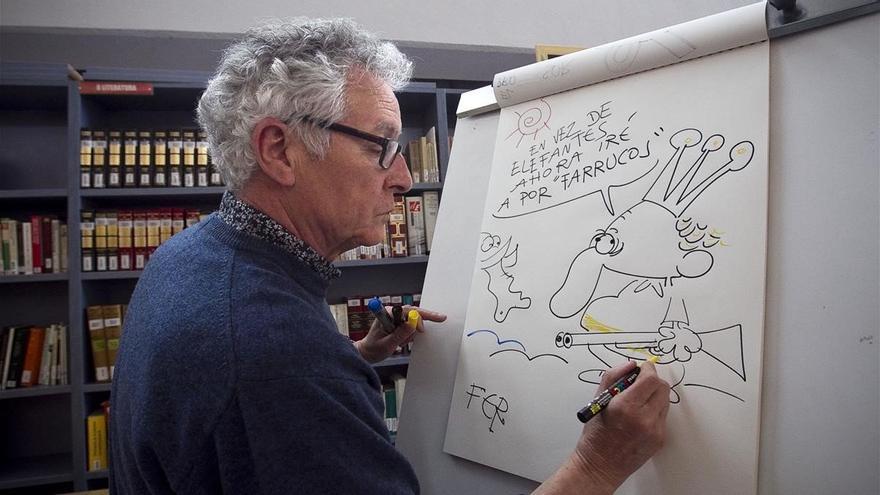 Muere el dibujante satírico Fer a los 71 años