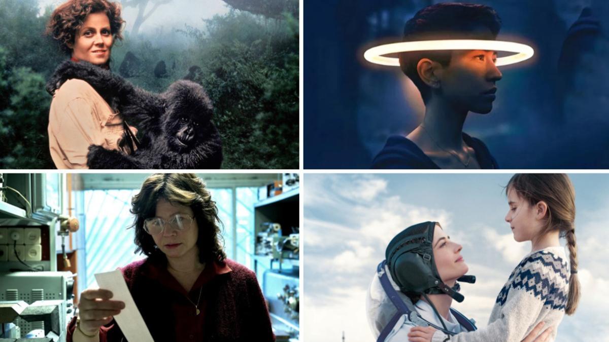 Cuatro prototipos de científicas, algunas basadas en personajes reales, en películas inolvidables