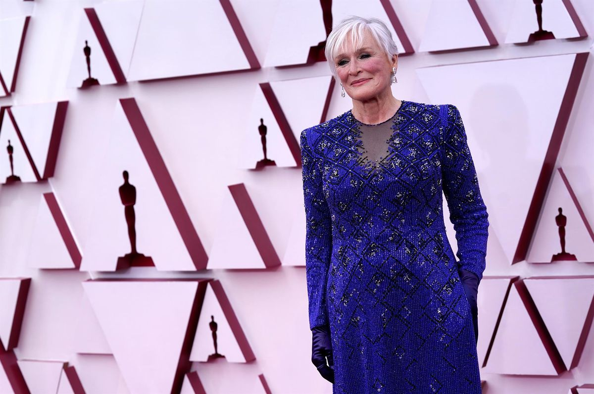 Glenn Close, en la ceremonia de los Oscar.