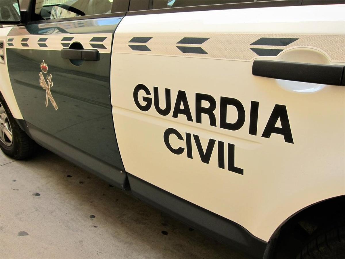 Un coche de la Guardia Civil, en una imagen de recurso
