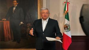 Andrés Manuel López Obrador, presidente de México.