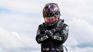 Lewis Hamilton ha logrado, hoy, en Spa (Bélgica) su 'pole position' nº 93 en la F-1.
