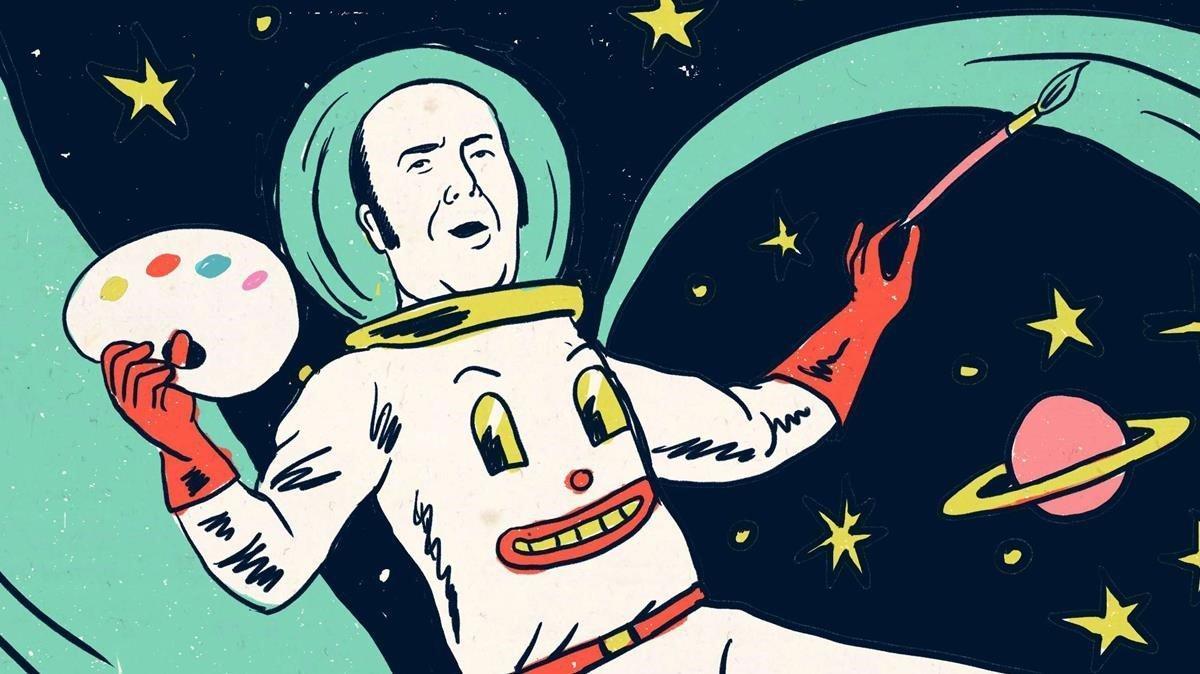 Una de las ilustraciones de 'Las legendarias aventuras de Chiquito', de Sergio Mora