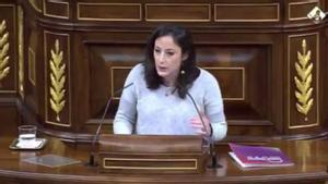 """Isabel Franco (Podemos): """"La monarquía hispánica provocó una enorme invasión y genocidio en Al-Ándalus"""""""