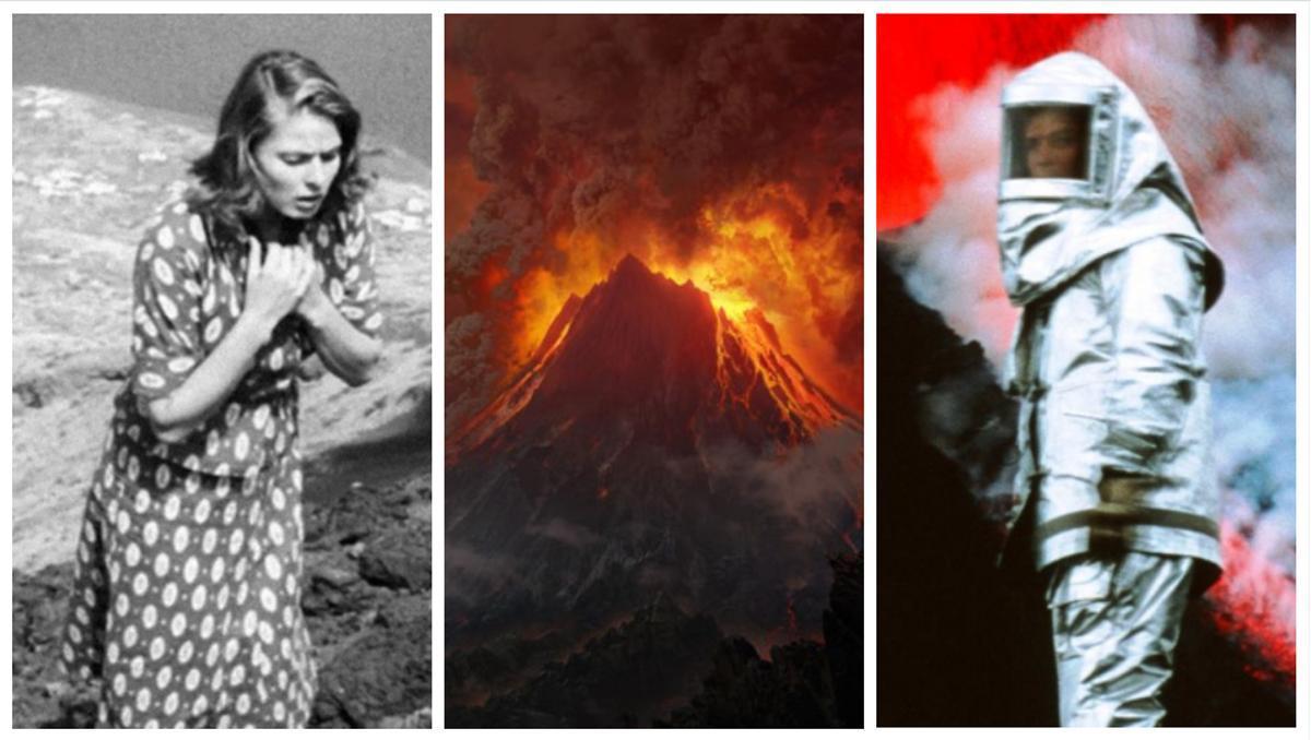 Imágenes de 'Stromboli', 'El señor de los anillos' y 'Dentro del volcán'