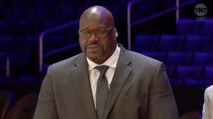Shaquille O'neal recorda Kobe Bryant