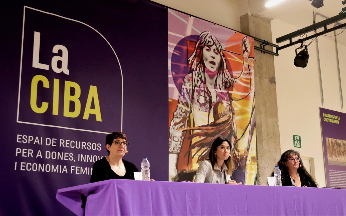 Jornada sobre políticas feministas en la CIBA celebrada el 8 de junio de 2021.