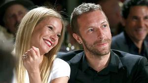 Gwyneth Paltrow y su exmarido, Chris Martin.