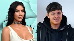 Kim Kardashian y Alfred García.