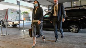 Meng Wanzhou,directora financiera de Huawei detenida en Canadá.