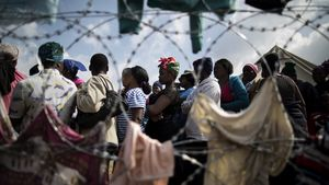 Los migrantes de Sudáfrica han huído hacia campos de refugiados para protegerse de los ataques racistas.