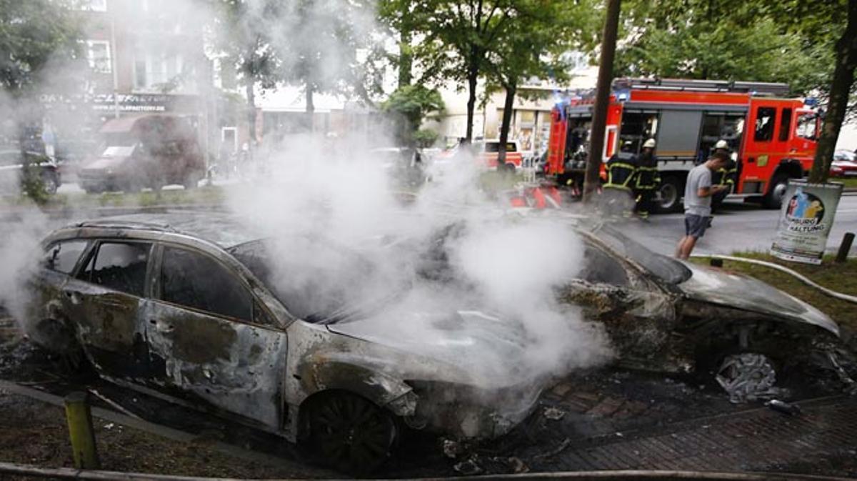 Les manifestacions contra la cimera del G-20 van derivar en disturbis violents.