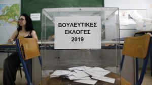Elecciones generales anticipads en Grecia.
