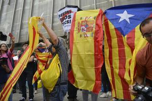 Mobilitzacions als grans municipis catalans contra la sentència del procés