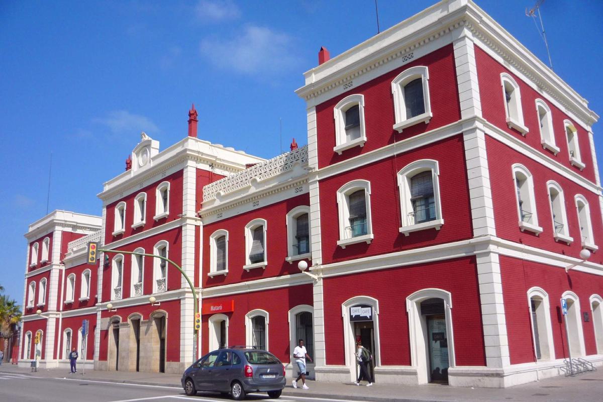 La estación de tren de Mataró, en una imagen de archivo.