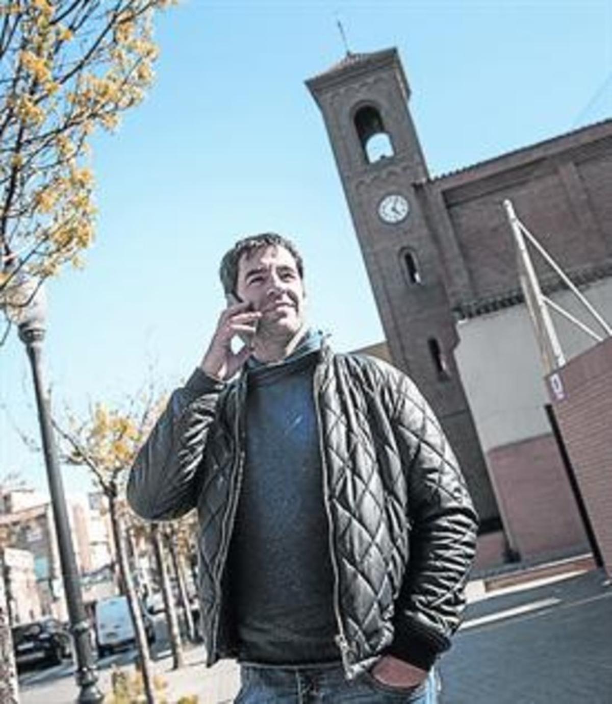 El cineasta Joan Capdevila, en el Bon Pastor, donde nació Rumba 3.