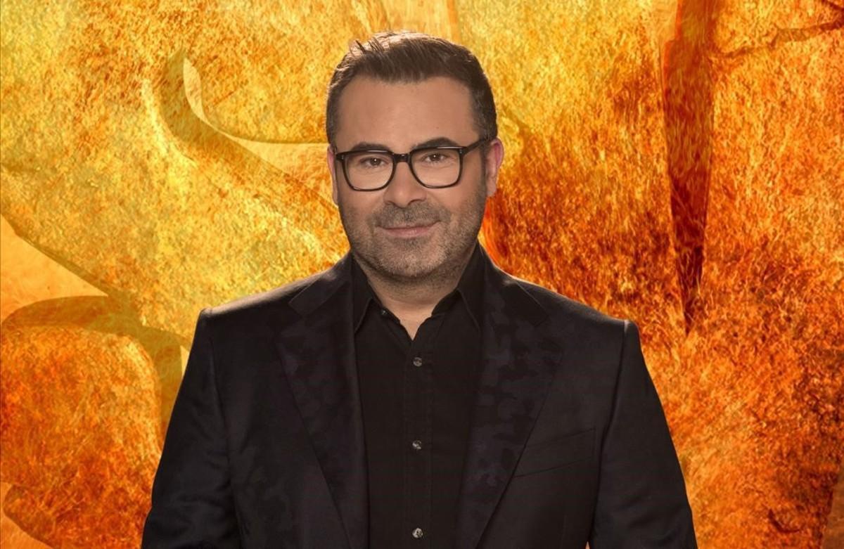 Jorge Javier Vázquez, presentador del 'reality' de Tele 5 'Supervivientes'.