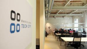 Interior del nuevo Pier 03 de Barcelona Tech City.