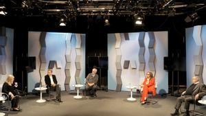 """Mesa redonda """"La mujer y los conflictos culturales en el mundo"""" de la Barcelona Woman Acceleration Week (BWAW) en la que ha participado Zapatero"""