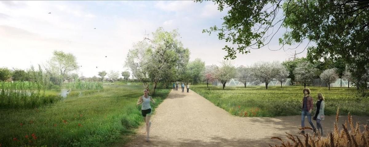 Imagen virtual del nuevo proyecto recreativo y turístico en Tarragona.