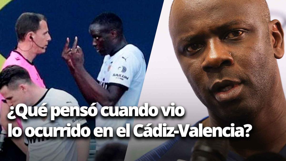 """Thuram contesta: ¿""""Qué pensó cuando vio lo ocurrido en el Cádiz-Valencia""""?"""