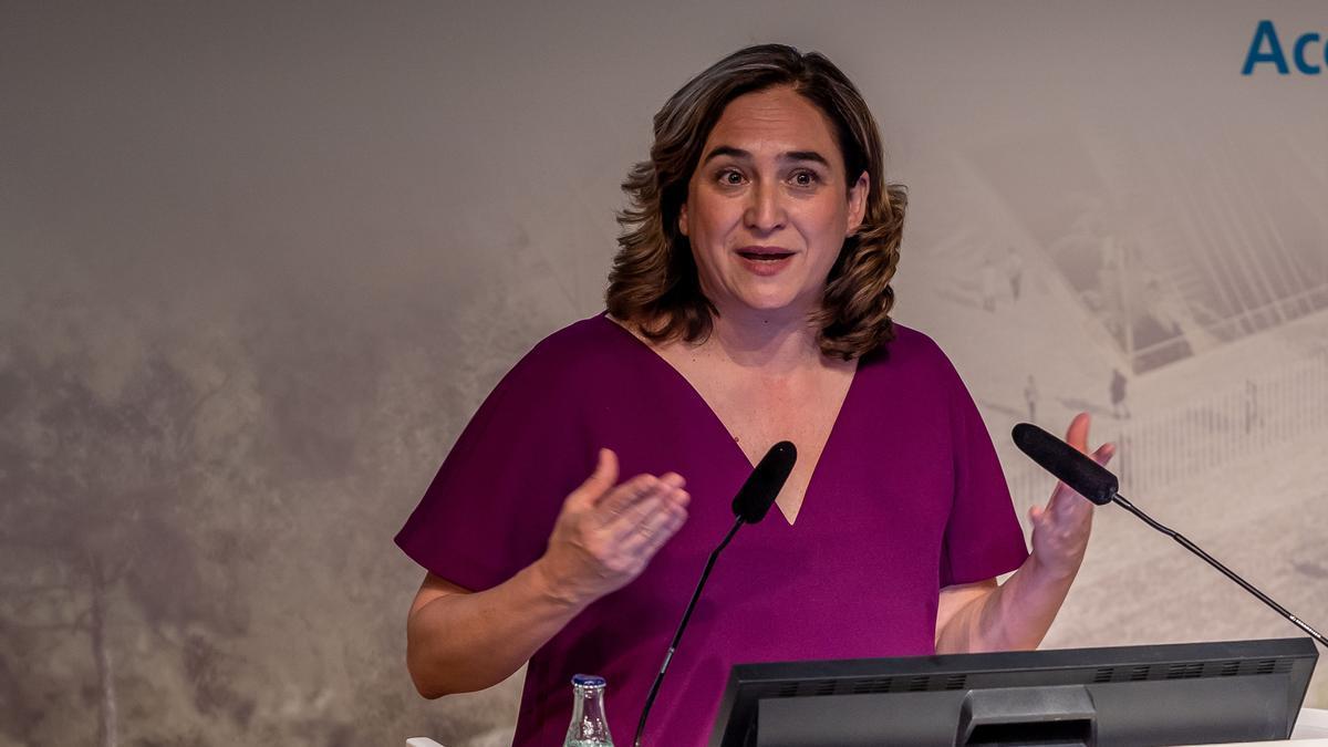 Colau, elegida para liderar en Europa la red de ciudades contra la crisis climática.