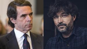 José María Aznar y Jordi Évole
