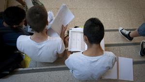 Els exàmens de selectivitat a Catalunya es podran fer sense mascareta
