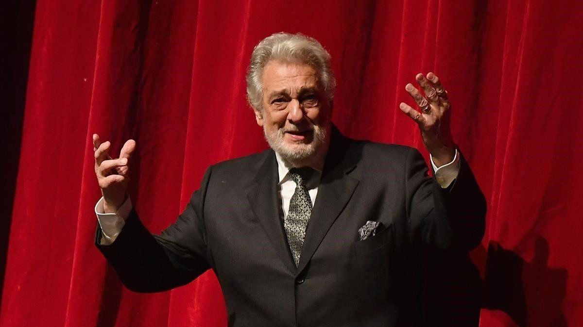 Plácido Domingo: «No he abusat mai de ningú»