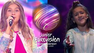 Valentina y Soleá, representantes de Francia y España en Eurovisión Junior 2020.