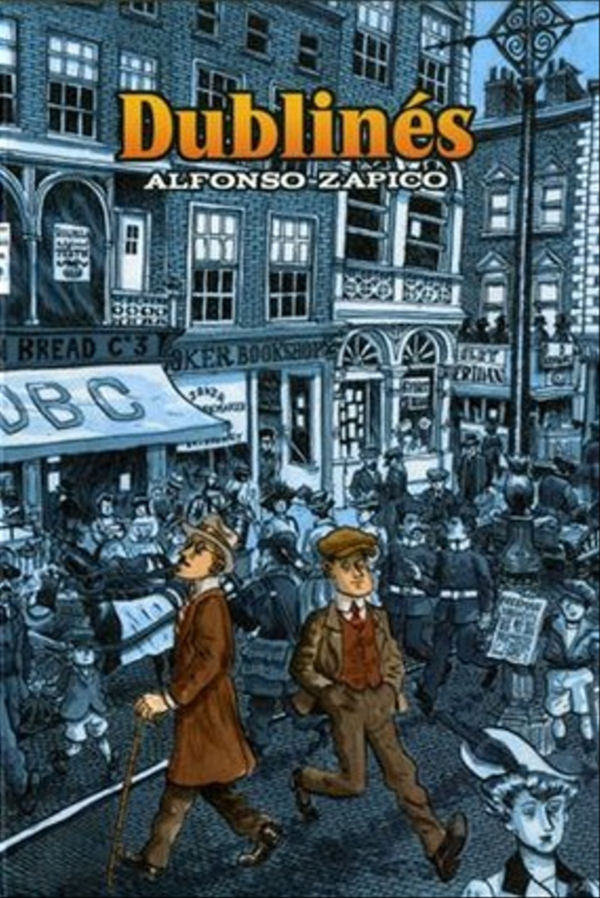 Portada de 'Dublinés', obra con la que Alfonso Zapico ha ganado el Premio Nacional de Cómic