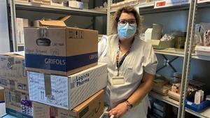 El Hospital Esperit Sant de Santa Coloma dona parte del excedente de fármacos no usados para el tratamiento del covid-19.