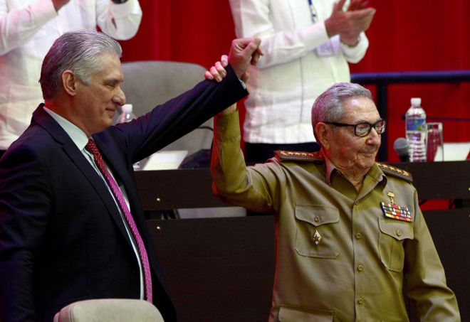 Diez-Canel, nuevo líder del Partido Comunista de Cuba
