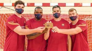 Un Barça rejovenit per a l'any de les dues Champions