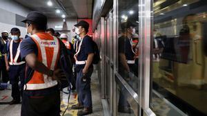 Un xoc de trens al metro de Kuala Lumpur deixa almenys 213 ferits