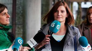 La exmujer de 'El Chicle' llega al juicio por el asesinato de Diana Quer.