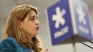 La coordinadora general del PDECat,Marta Pascal.