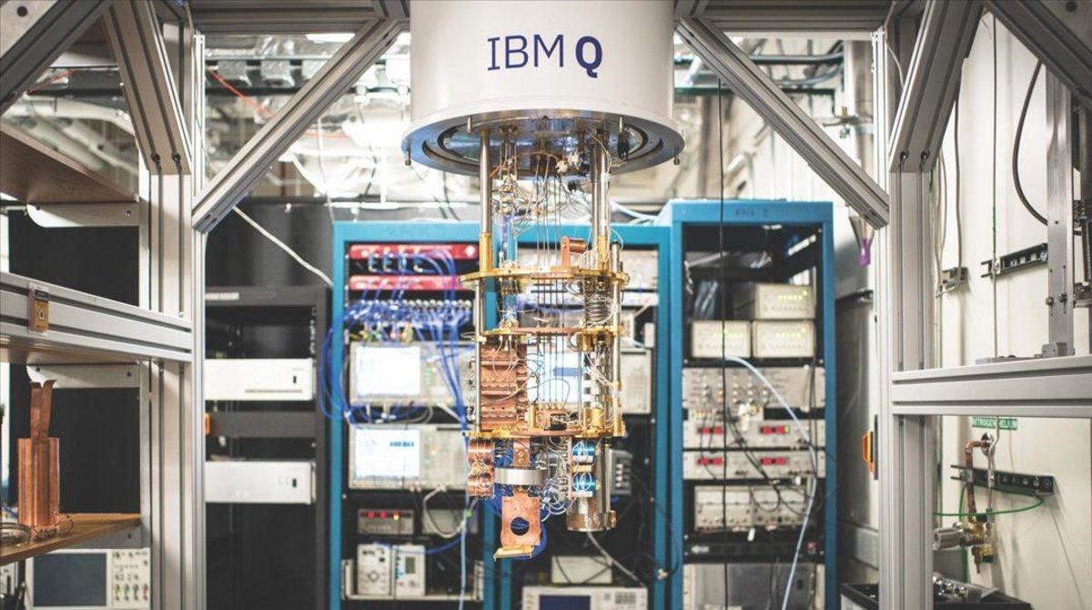 El ordenador cuántico IBM Q.