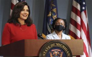 Gretchen Whitmer, gobernadora de Michigan, EEUU.