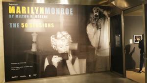 Entrada a esta exposición dedicada a las fotos de Marilyn en los años 50.