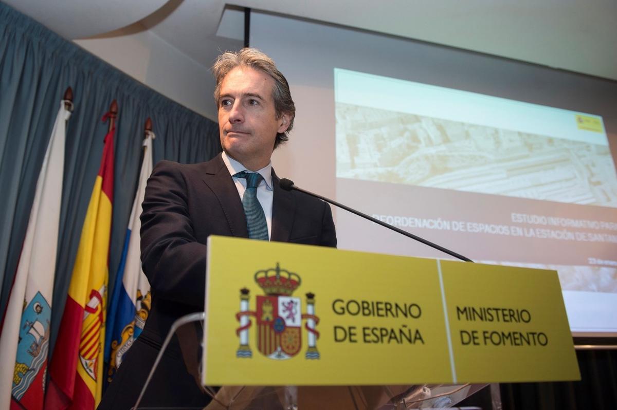 El ministro de Fomento Íñigo de la Serna.