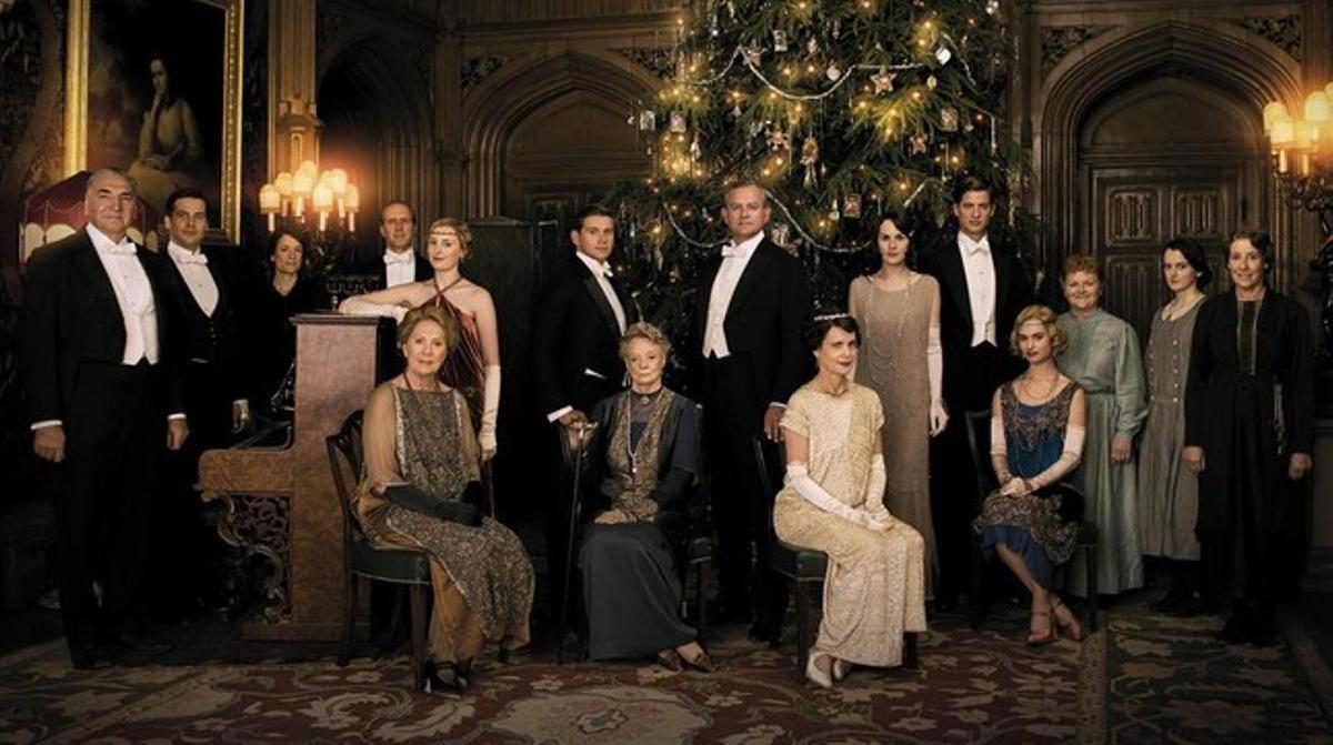 Una imagen de la serie 'Downton Abbey'.