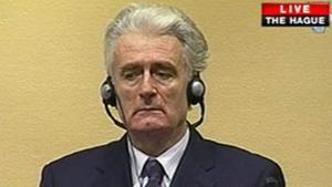 Radovan Karadzic, ante el tribunal.