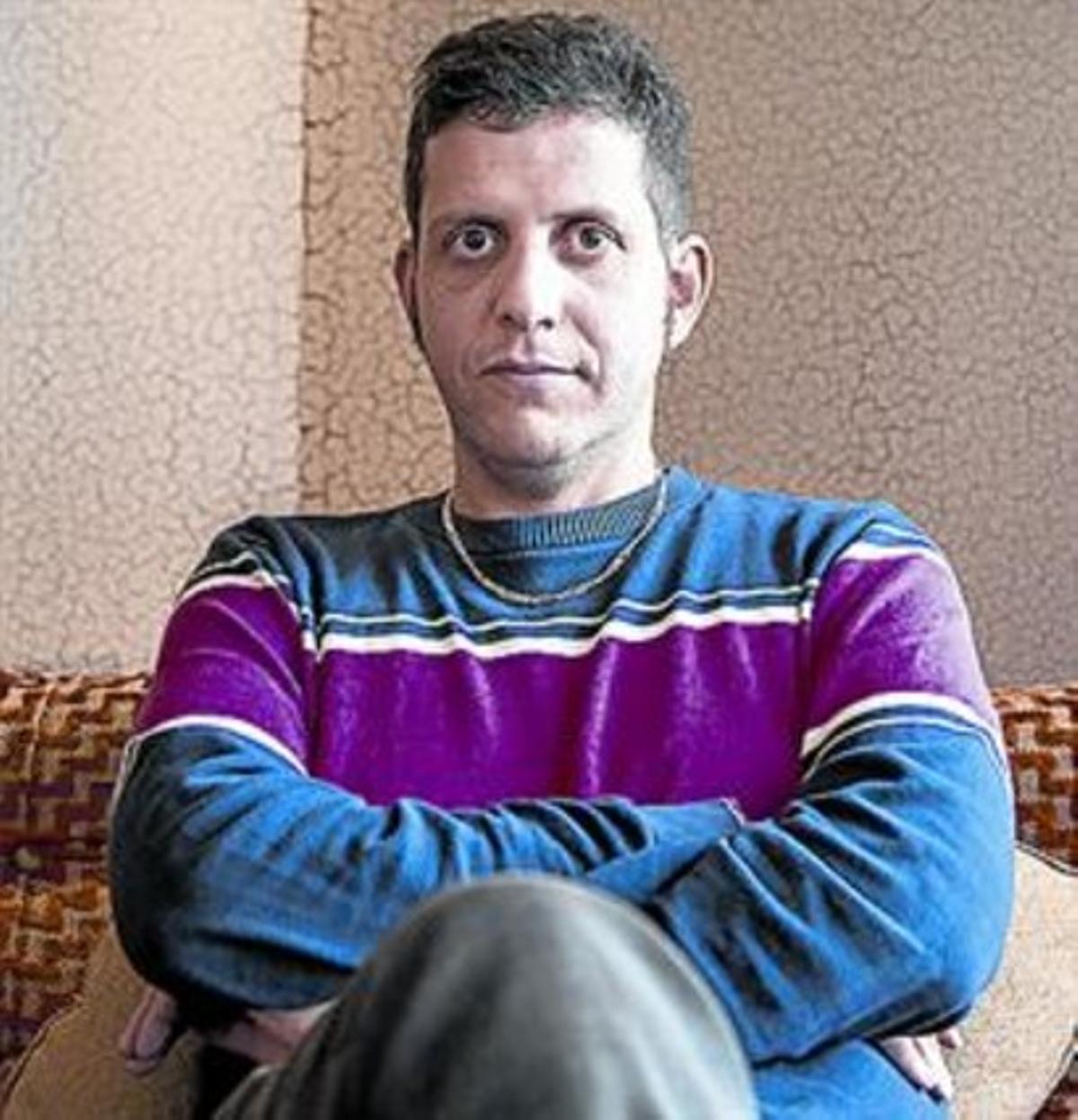 El escritor Nir Baram, en Barcelona.