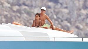 """Ronaldo: """"El meu fill sap lidiar quan li diuen que hi ha algú millor que el seu pare"""""""